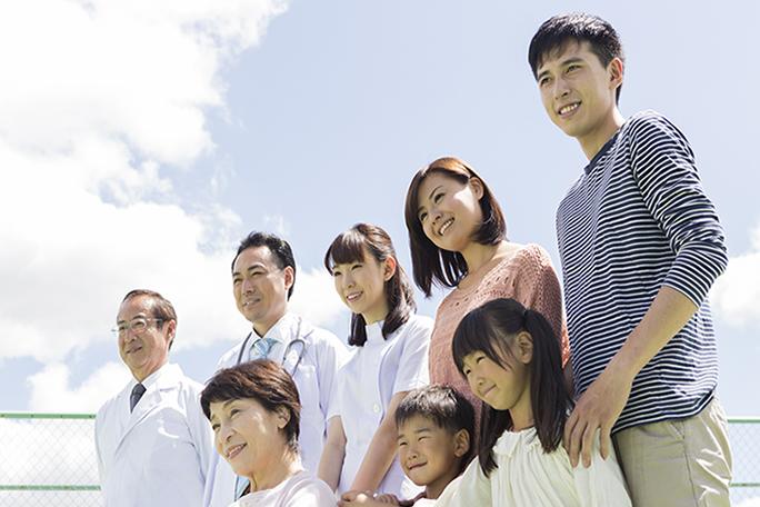 家族ぐるみの医療と、地域の健康づくりを実現できる